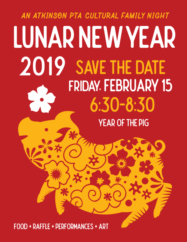 Lunar New Year 2019 Friday February 15 Atkinson Elementary Pta